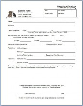 essential pet sitting business forms home